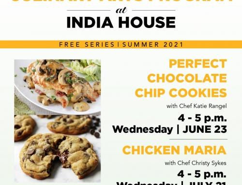 India House: Free Culinary Arts Program & Community Learning