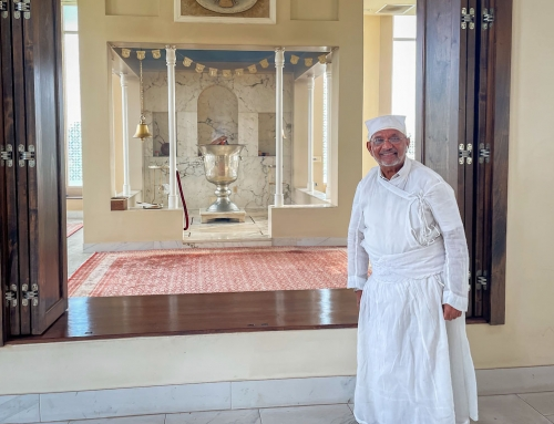 Zoroastrian fire temple serves a steadfast community here and abroad