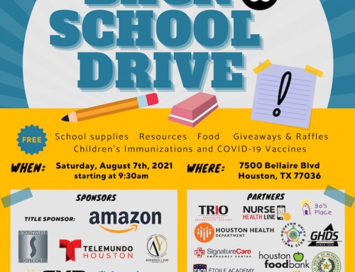 The Alliance Back to School Drive & COVID19 Vaccine Event, Aug. 7