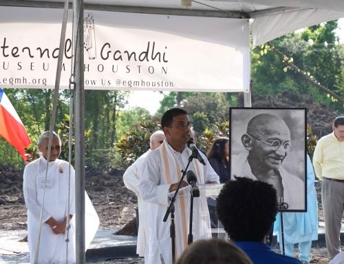 Groundbreaking for Eternal Gandhi Museum hastens another Brays Oaks first