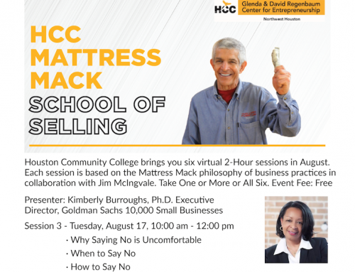 HCC Mattress Mack School of Selling, Session 3 and 4