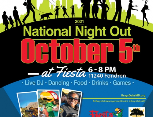 National Night Out, Oct. 5