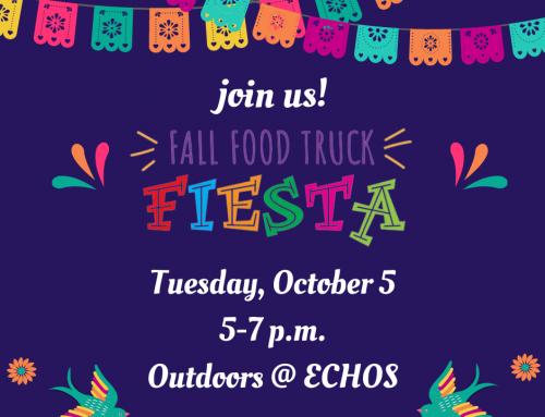 ECHOS Fall Food Truck Fiesta, Food Pantry and More