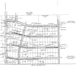 White Heather Storm Sewer Plans